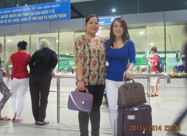 Chị Nguyễn Thị Thanh Thủy – Du lịch Mỹ – Công ty Á Châu