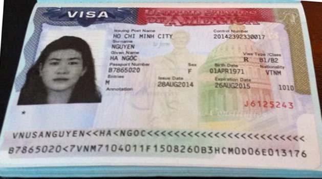 Du học Á Châu – Visa du lịch Mỹ Nguyễn Ngọc Hà