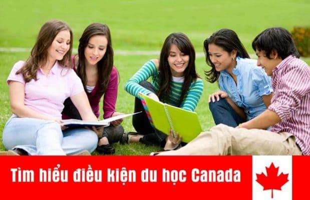 điều kiện du học Canada, công ty tư vấn du học Canada