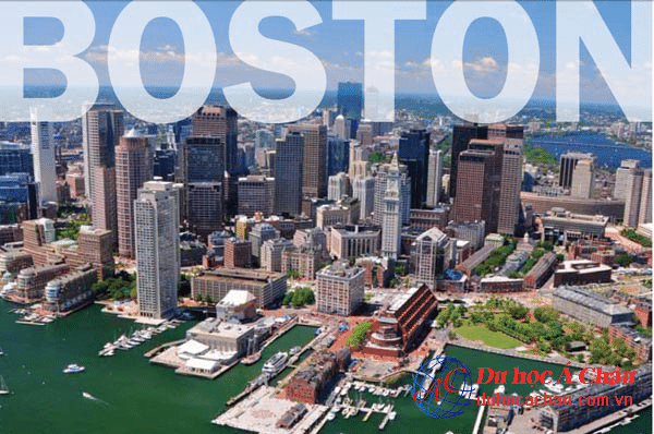 Trường Boston du học mỹ