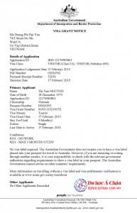 visa du lịch úc 2015, công ty du lịch úc uy tín