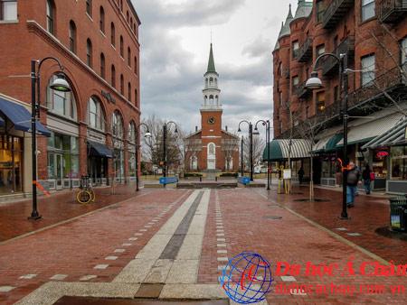 Du học Á Châu giới thiệu Thành phố Burlington