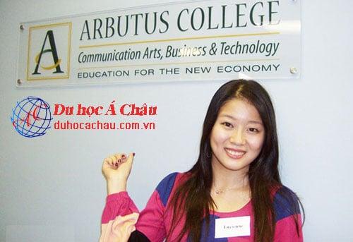 Du học Canada trường Cao đẳng Arbutus College