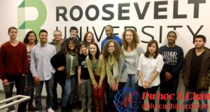 Du học Mỹ trường Đại học Roosevelt năm 2015