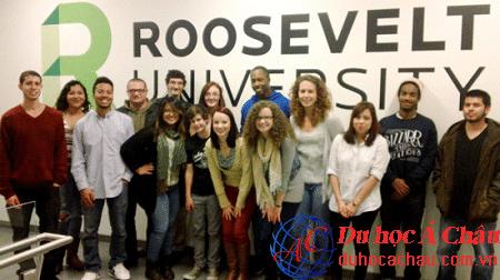 Đại học Roosevelt du học Mỹ tại thành phố Chicago