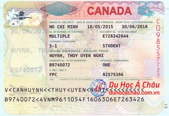 Visa du học Canada trường MacEwan University – Huỳnh Thụy Uyển Nghi