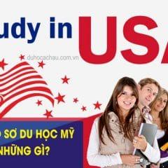 Các giấy tờ, thủ tục, hồ sơ du học Mỹ cần chuẩn bị (CHI TIẾT 2021)