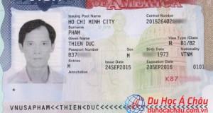 visa du lịch mỹ thăm con