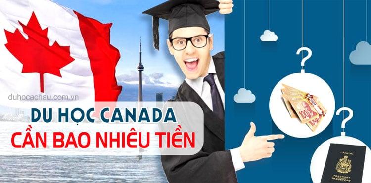 chi phí du học Canada 2021