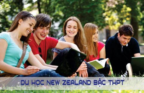 Du học New Zealand học tập từ bậc THPT