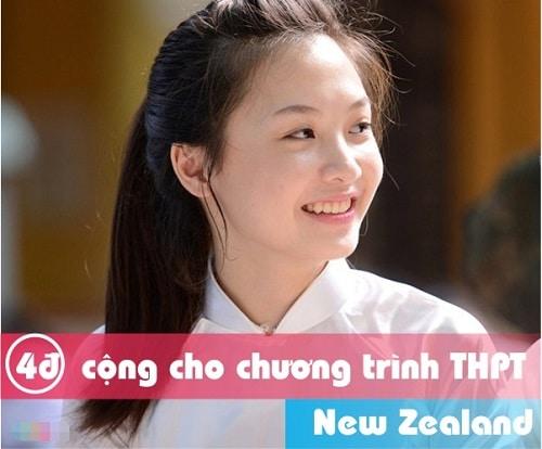 Du học New Zealand: 4 điểm cộng chương trình THPT