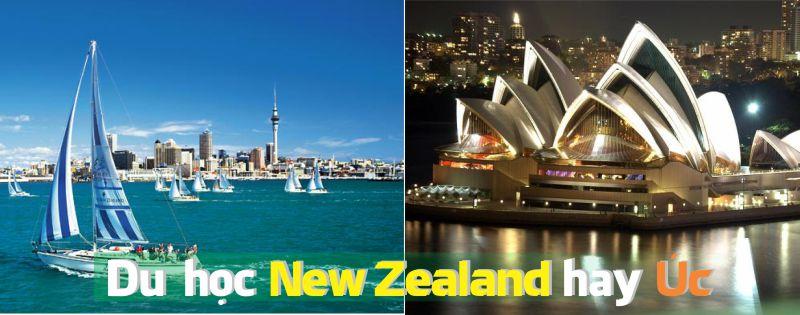 Du học Úc hay New Zealand ?