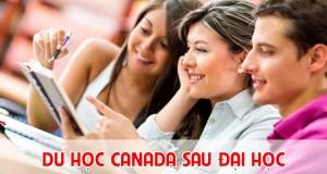 du học canada sau đại học, điều kiện du học canada