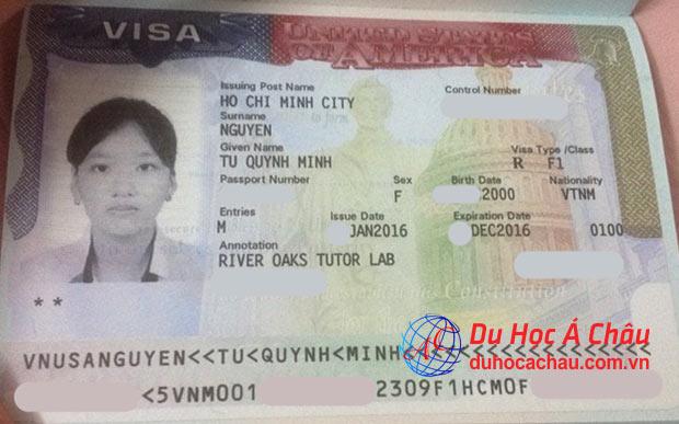 visa du học mỹ f1, visa trung học ở mỹ