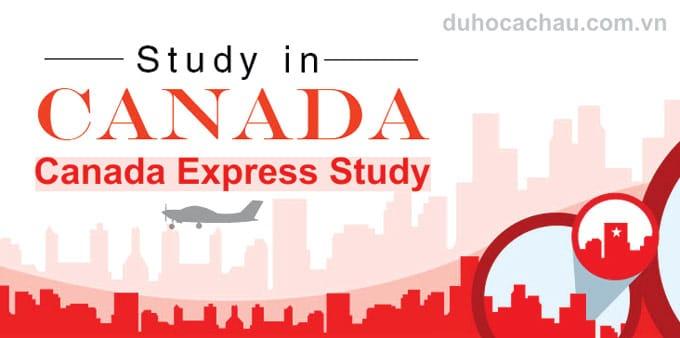 Canada Express Study, CES, xin visa du học canada
