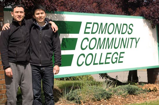 Edmonds Community College, du học mỹ tiết kiệm
