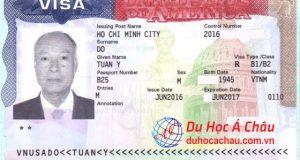 visa du lịch Mỹ 2017