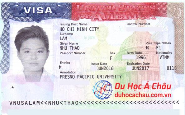 gia hạn visa du học mỹ, Fresno Pacific University