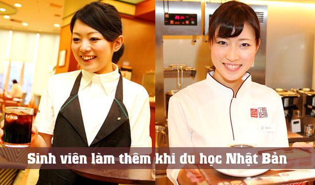 làm thêm tại Nhật khi du học