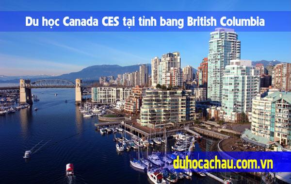 Chương trình Canada CES tại tỉnh bang British Columbia