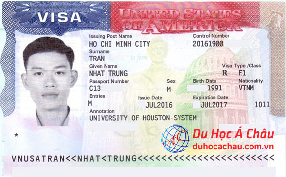 visa du học Mỹ, University Of Houston