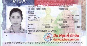 visa du học Mỹ, Mercer University