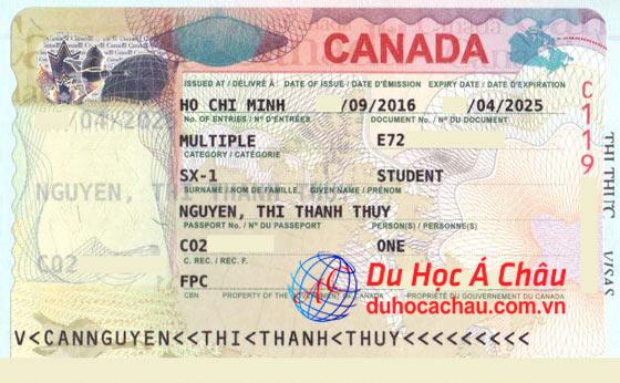 visa du học canada sx-1
