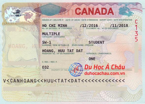 visa du học chương trình CES của Canada