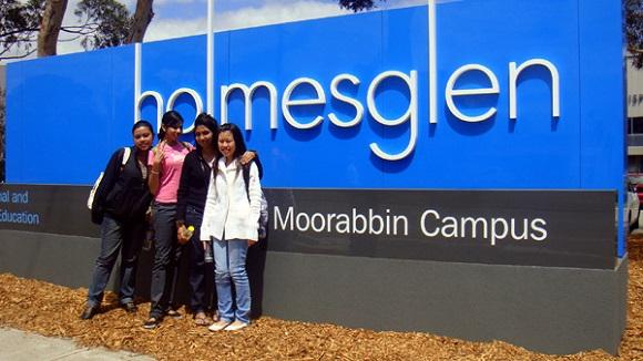 Du học Úc chuyển tiếp tại trường Holmesglen