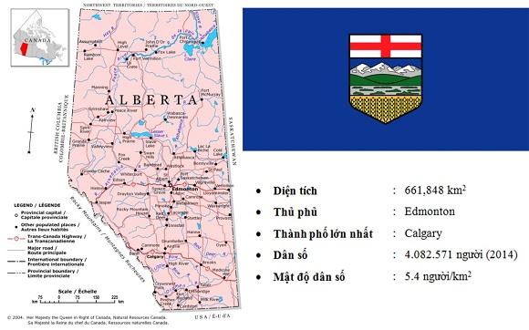 Du học Canada CES cùng các trường tại bang Alberta, Canada