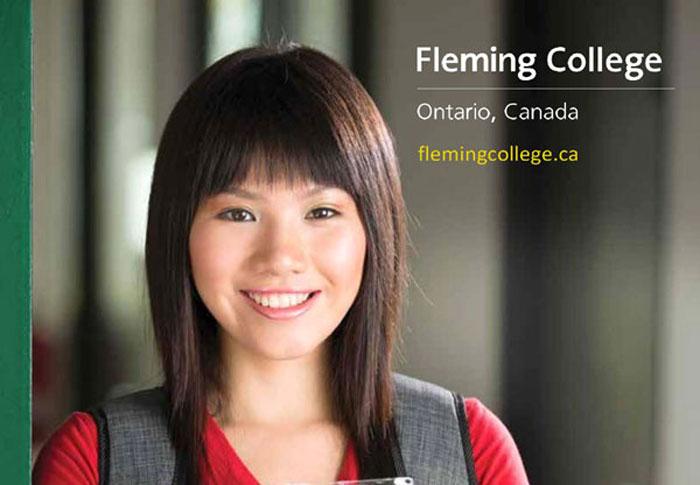 Cao đẳng Fleming College: Du học Canada không chứng minh tài chính