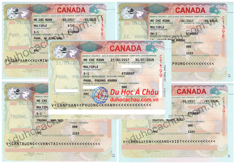 visa du học Canada