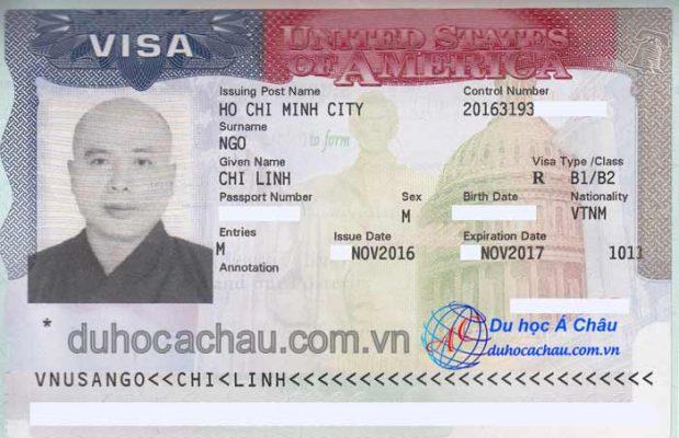 visa làm việc tại Mỹ