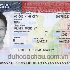 Visa du học Mỹ đậu phỏng vấn lần 2