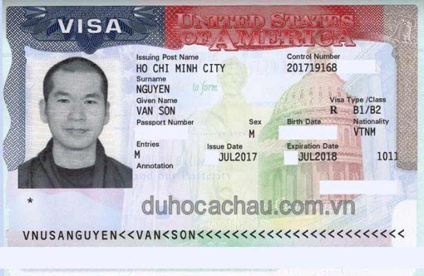 Visa du lịch Mỹ của Sư thầy, du lịch Mỹ 2018