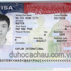 Chúc mừng visa du học Mỹ: Minh Uyên, Huyền Trâm, Bảo Phúc