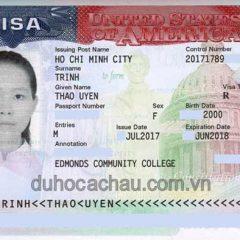 Chúc mừng visa du học, du lịch tại Mỹ, Canada