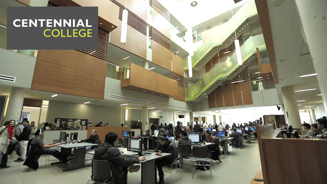 hình ảnh trường Centennial College, du học Canada