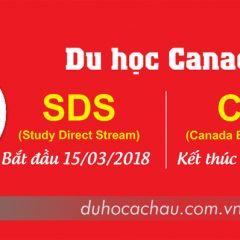 Du học Canada SDS 2019 - Không chứng minh tài chính [MỚI]