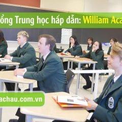 Học bổng trung học hấp dẫn của trường William Academy, Canada