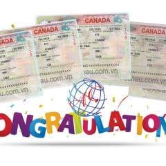 Chúc mừng visa du học Canada diện CES và CMTC