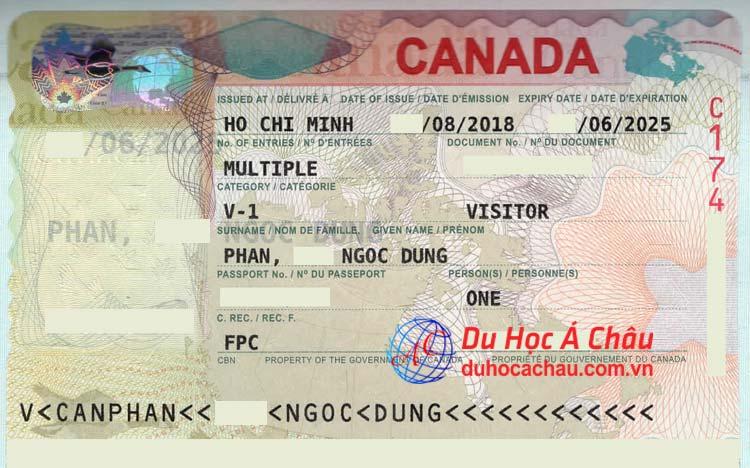 tư vấn visa du lịch Canada tại TPHCM