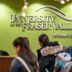Giới thiệu Trường đại học Fraser Valley (UFV), Canada