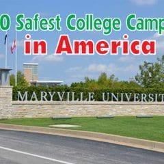 Top 10 trường Đại học an toàn nhất nước Mỹ về vấn đề an ninh