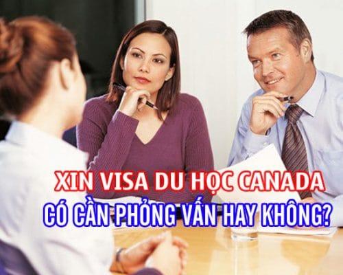 phỏng vấn du học Canada