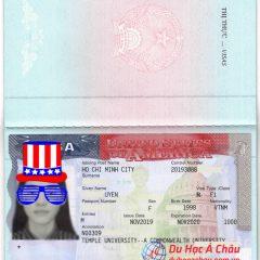 Cảm ơn công ty du học Á Châu đã giúp đỡ em trong suốt quá trình làm visa Mỹ