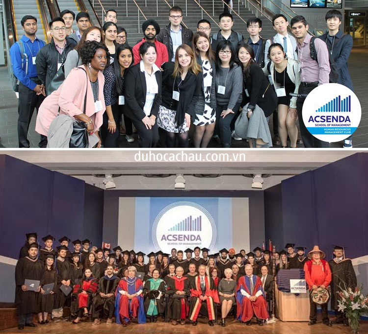 Acsenda School of Management, du học Canada 2020