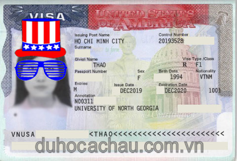 visa du học Mỹ 2020